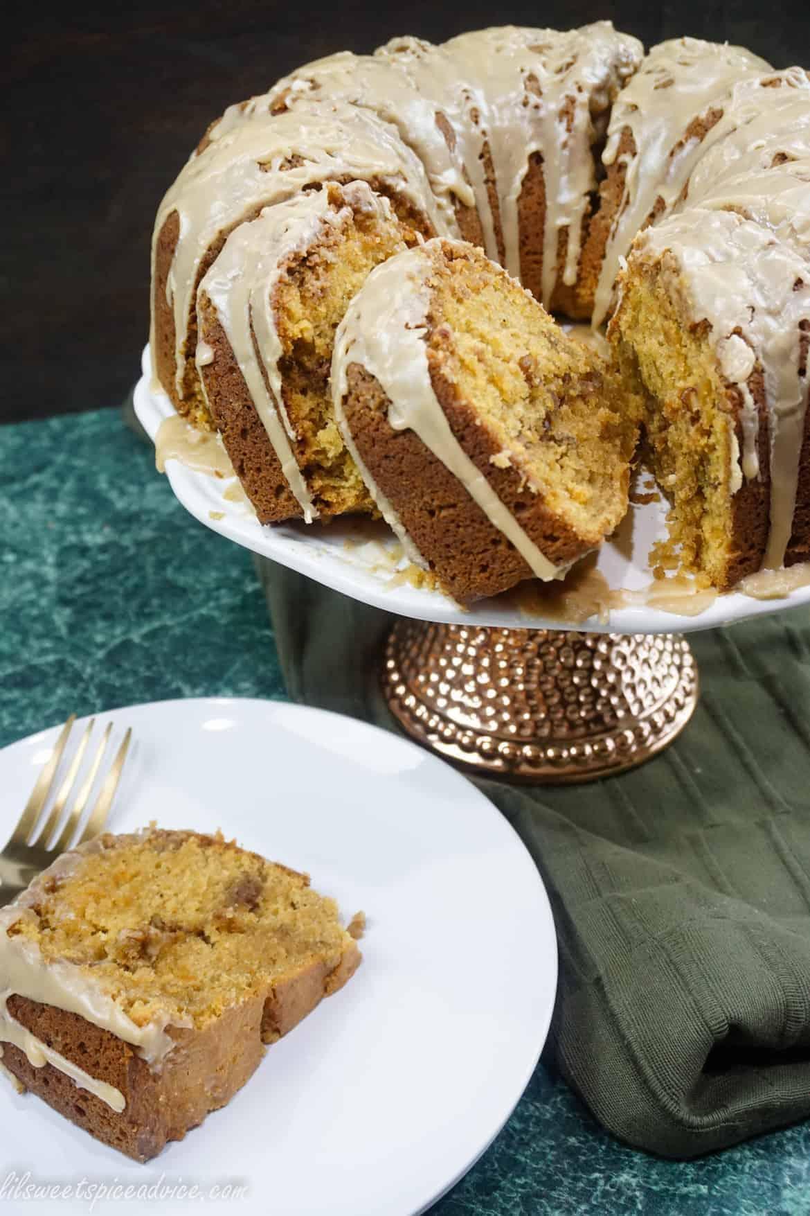 bourbon brown sugar glaze for cake