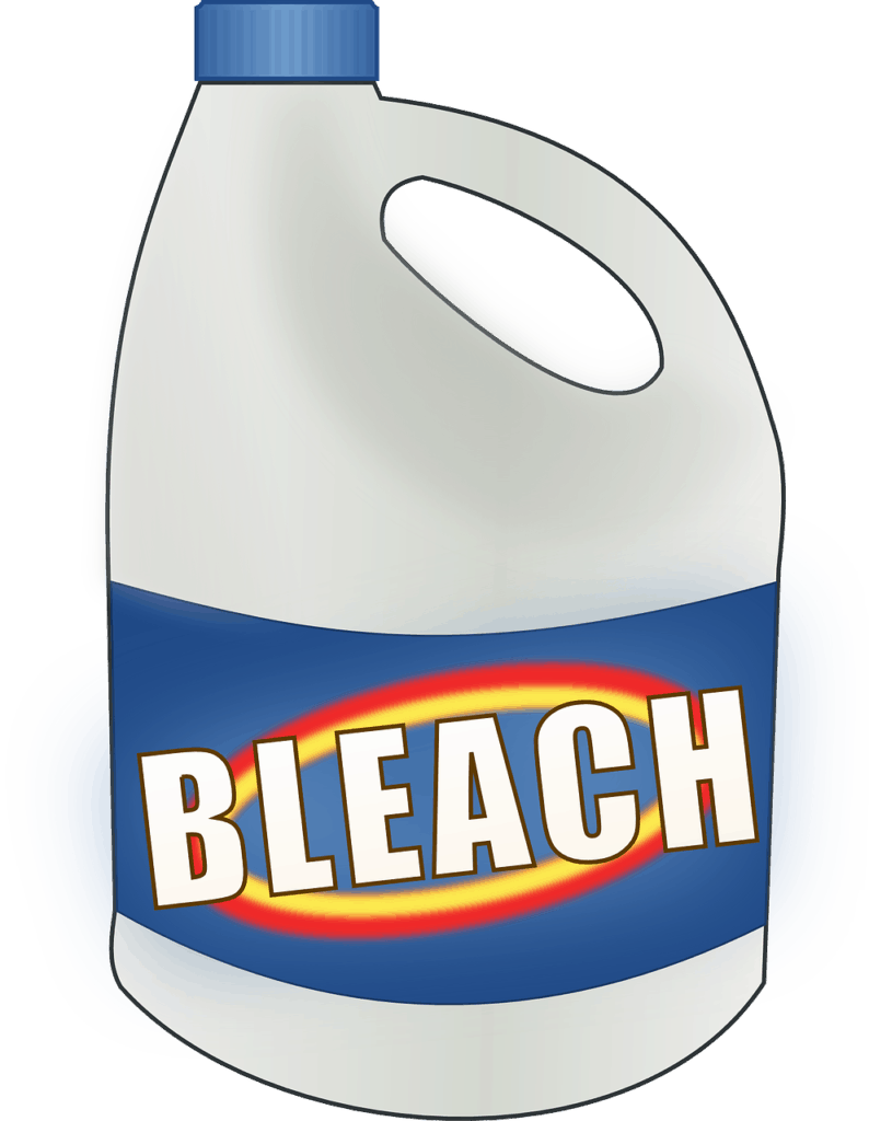 Why You Shouldn't Take a Chlorine Bleach Bath Nor Use Chlorine to Clean Your House -- Chlorine bleach is a dangerous cleaning agent that shouldn't be used to bathe in nor to clean to your house. Here I explain why. -- lilsweetspiceadvice.com #chlorinebleach #chlorinepool #bleachbath #dontcleanhousewithbleach